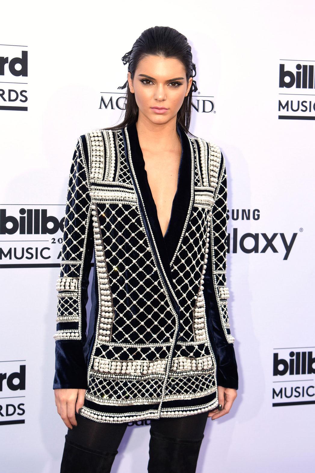 Kendall Jenner H&M Balmain - P 2015