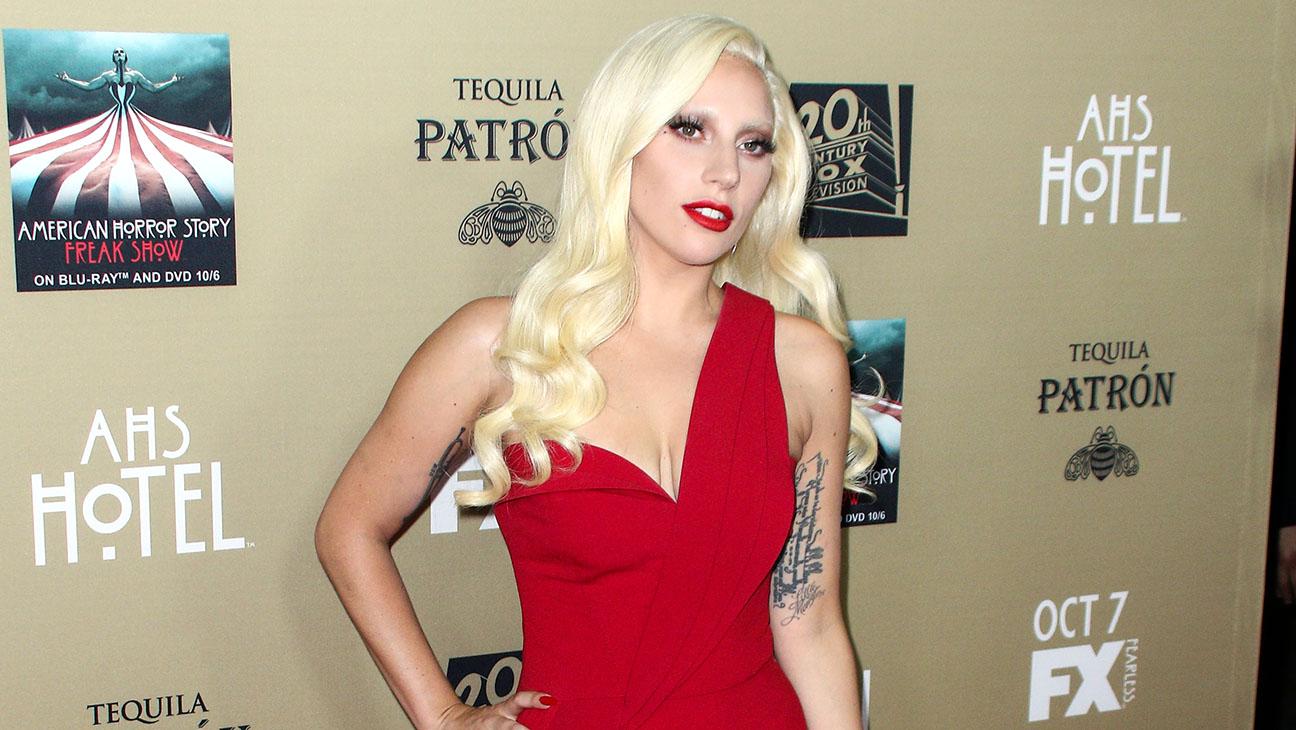 Lady Gaga LA Premiere Screening of American Horror Story - H 2015