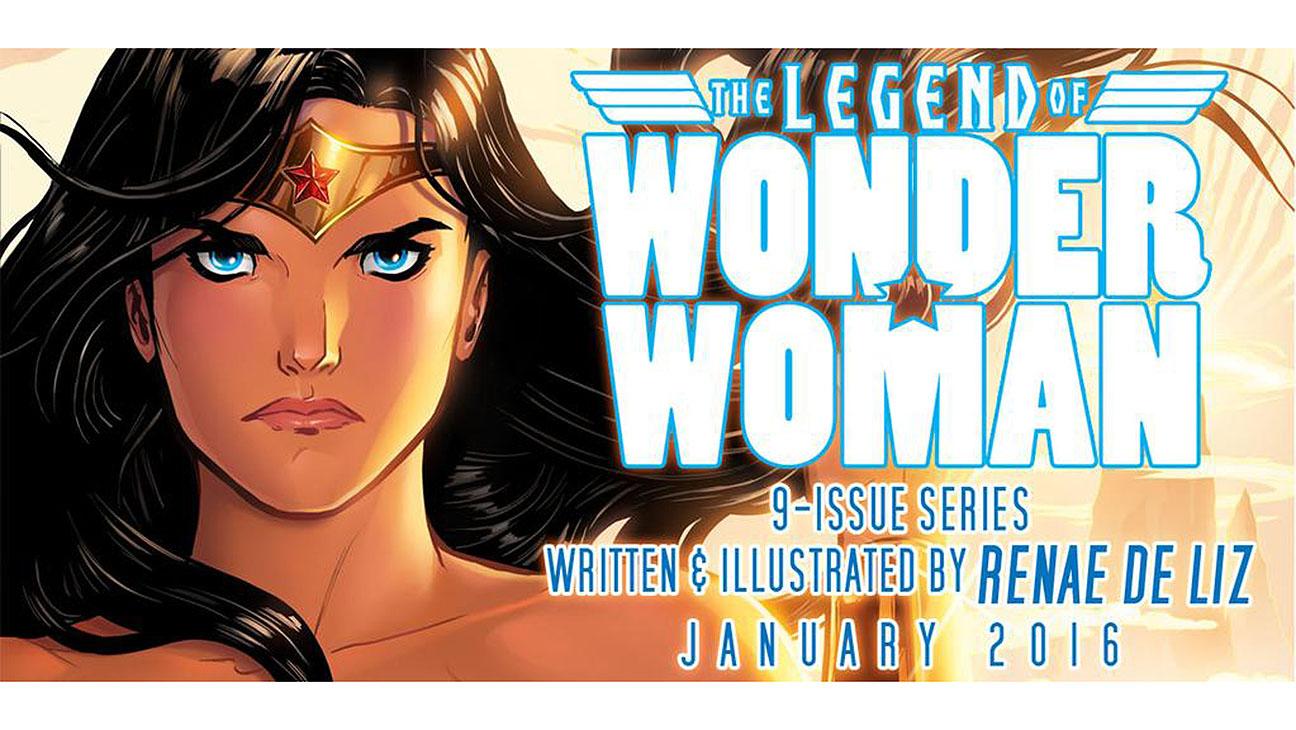 Legend of Wonder Woman - H 2015