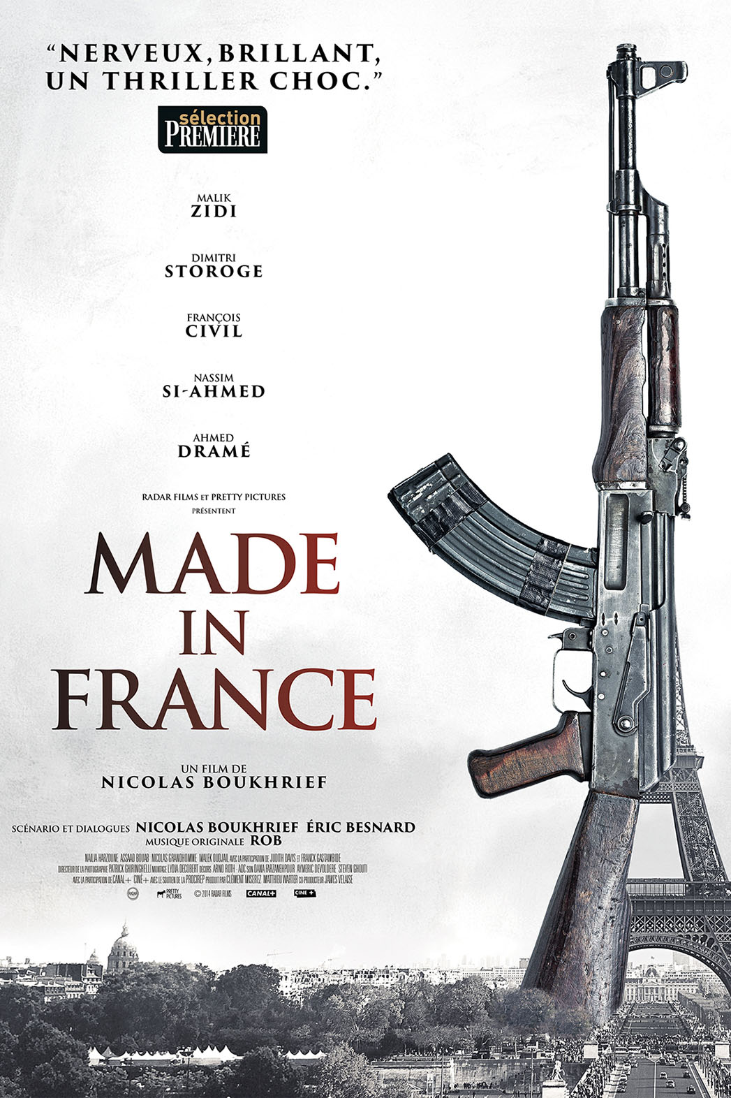 Made in France Poster - P 2015
