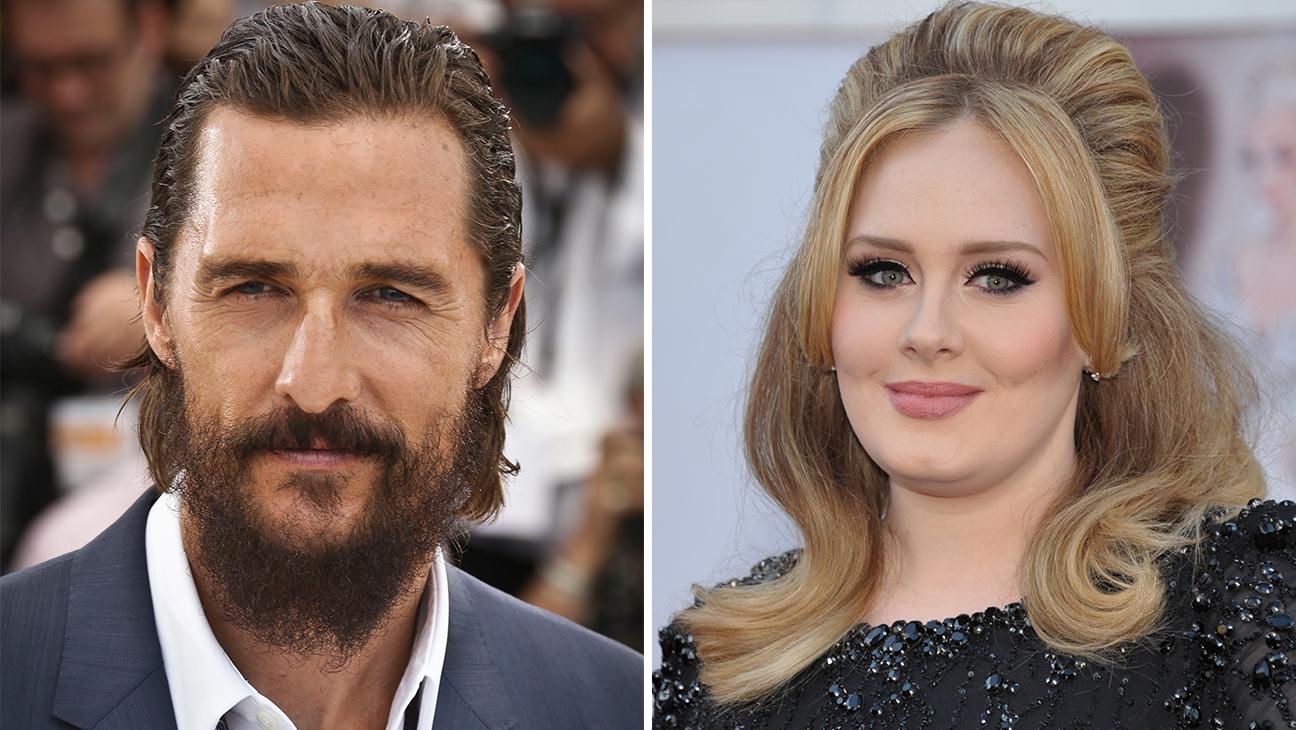 Matthew McConaughey and Adele - H 2015