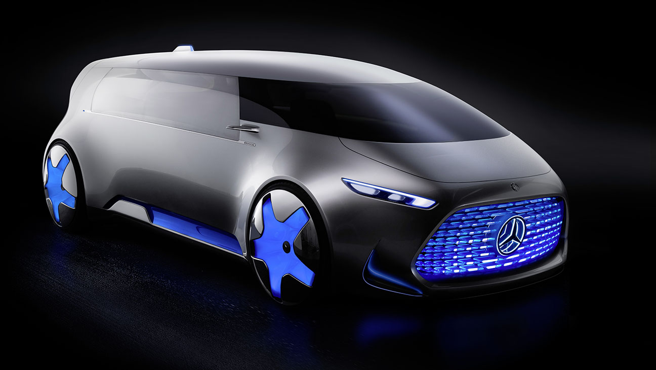 Mercedes Concept SUVWagon Rendering - H 2015