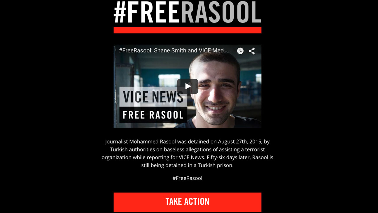 Mohammed Rasool protest Screen Shot - H 2015