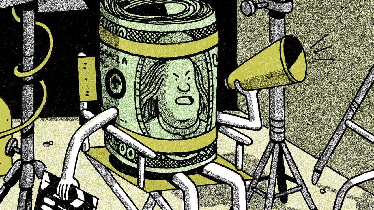 Money Director Illustration - H 2015