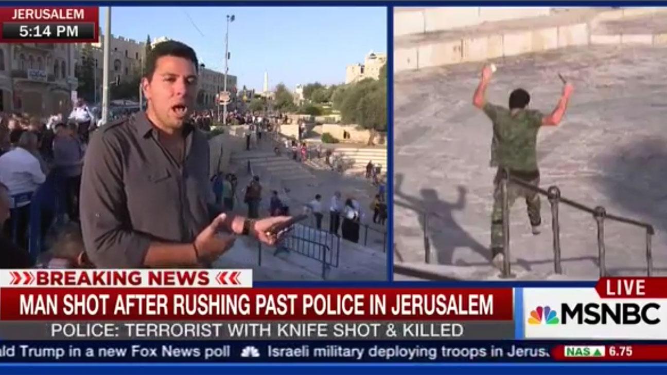 MSNBC Israel Coverage - H 2015