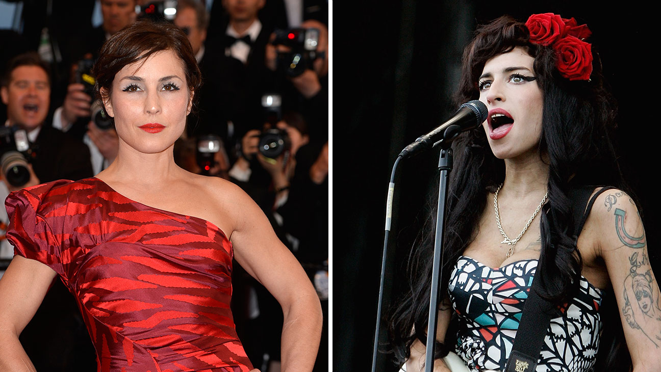 Noomi Rapace Amy Winehouse Split - H 2015