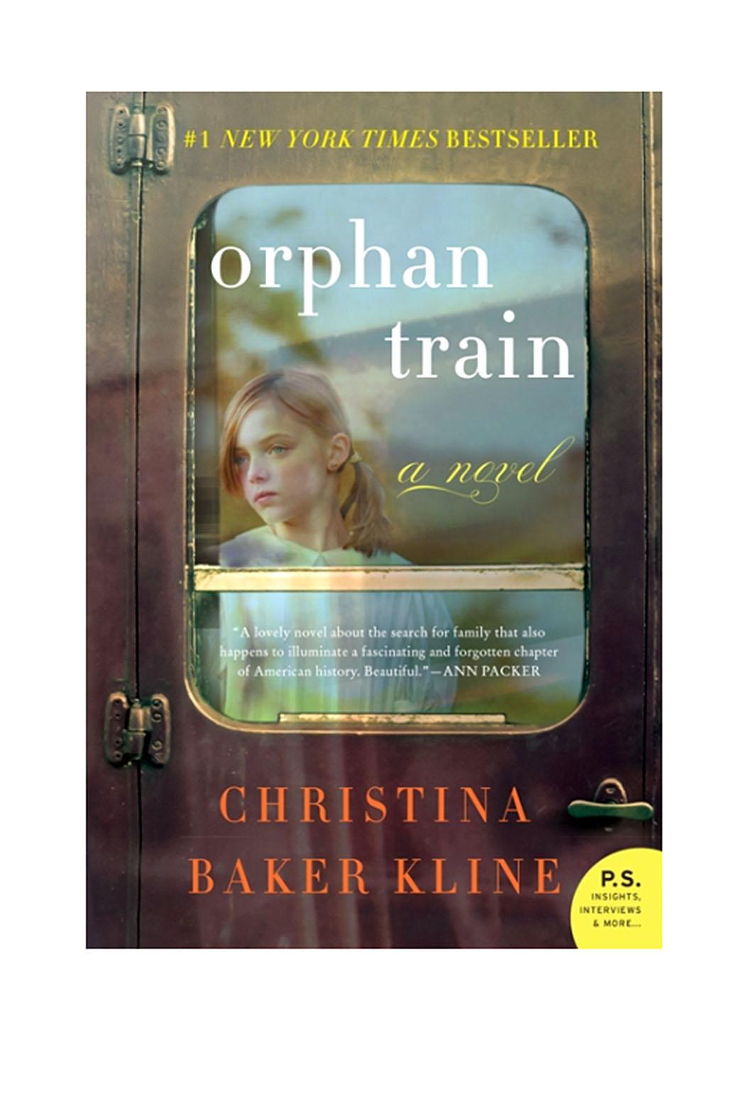Orphan Train Book Cover - P 2015