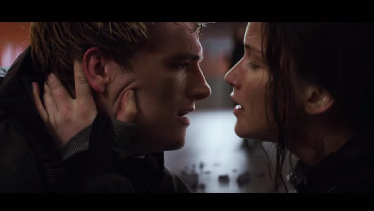 Katniss and Peeta Mockingjay Part 2 Still — H 2015