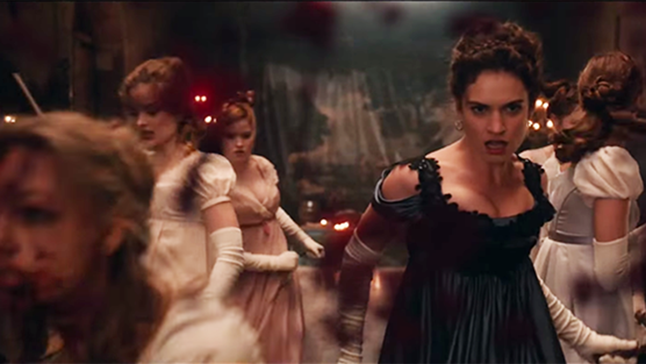 Pride and Prejudice and Zombies trailer - H 2015