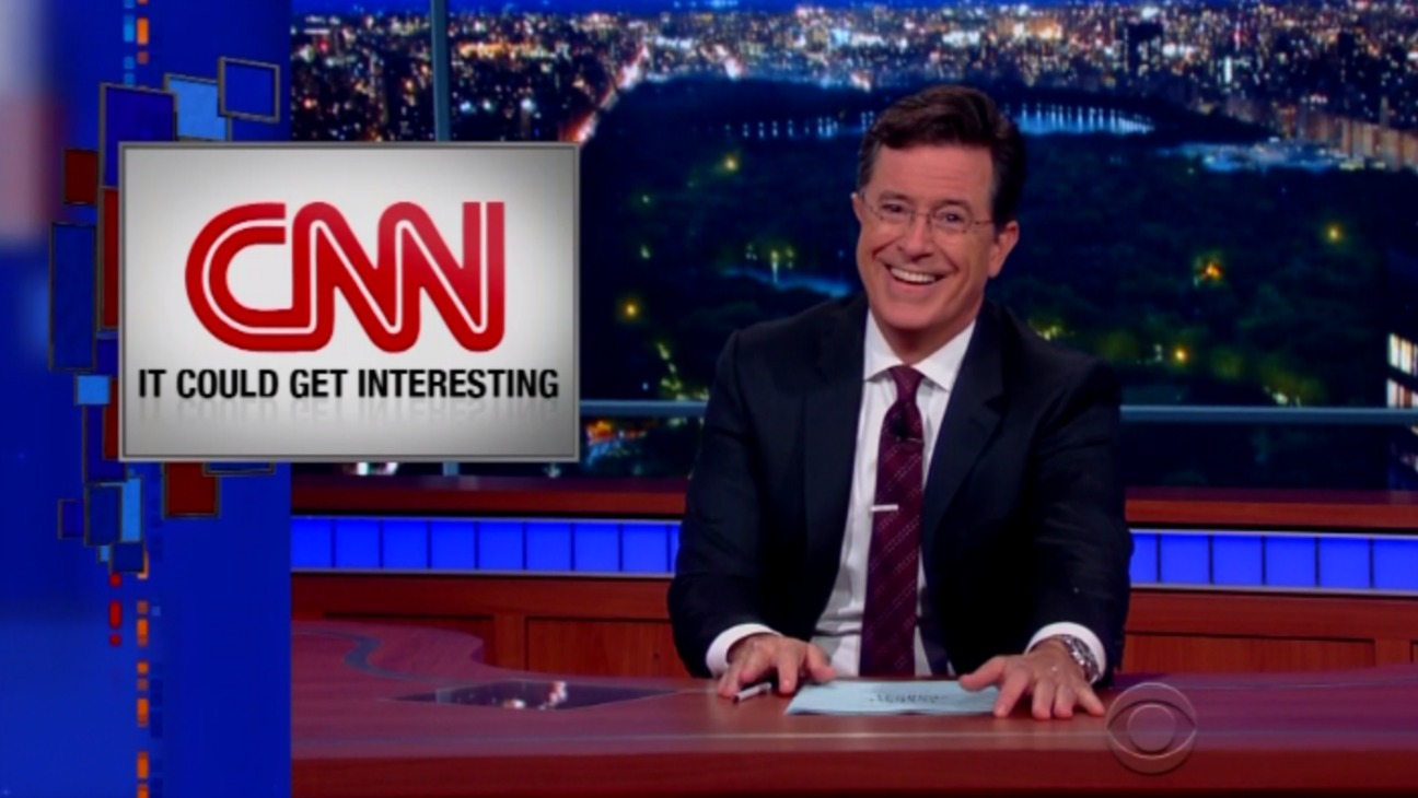 Late Show Debate Still - H 2015
