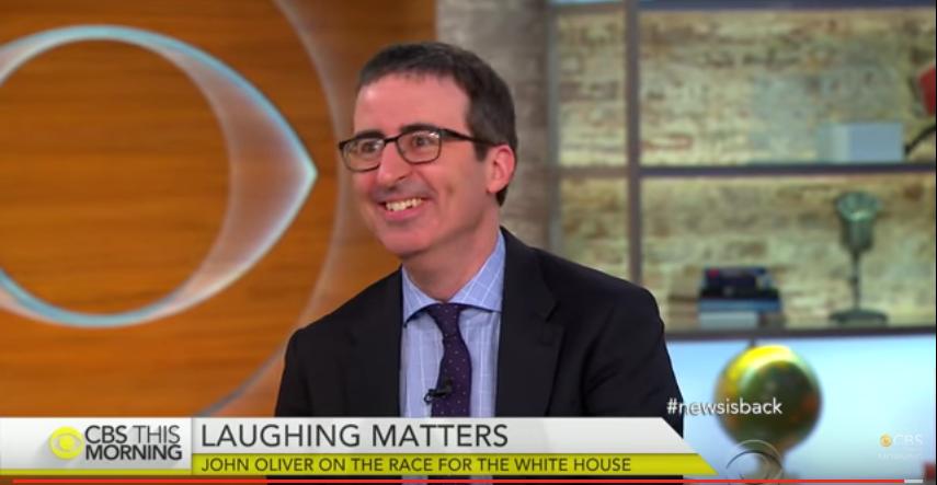 John Oliver - CBS This Morning - H 2015