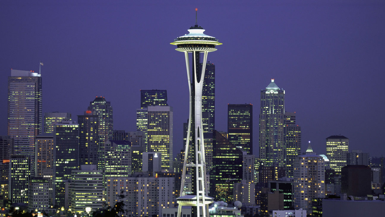 Seattle Skyline - H 2015
