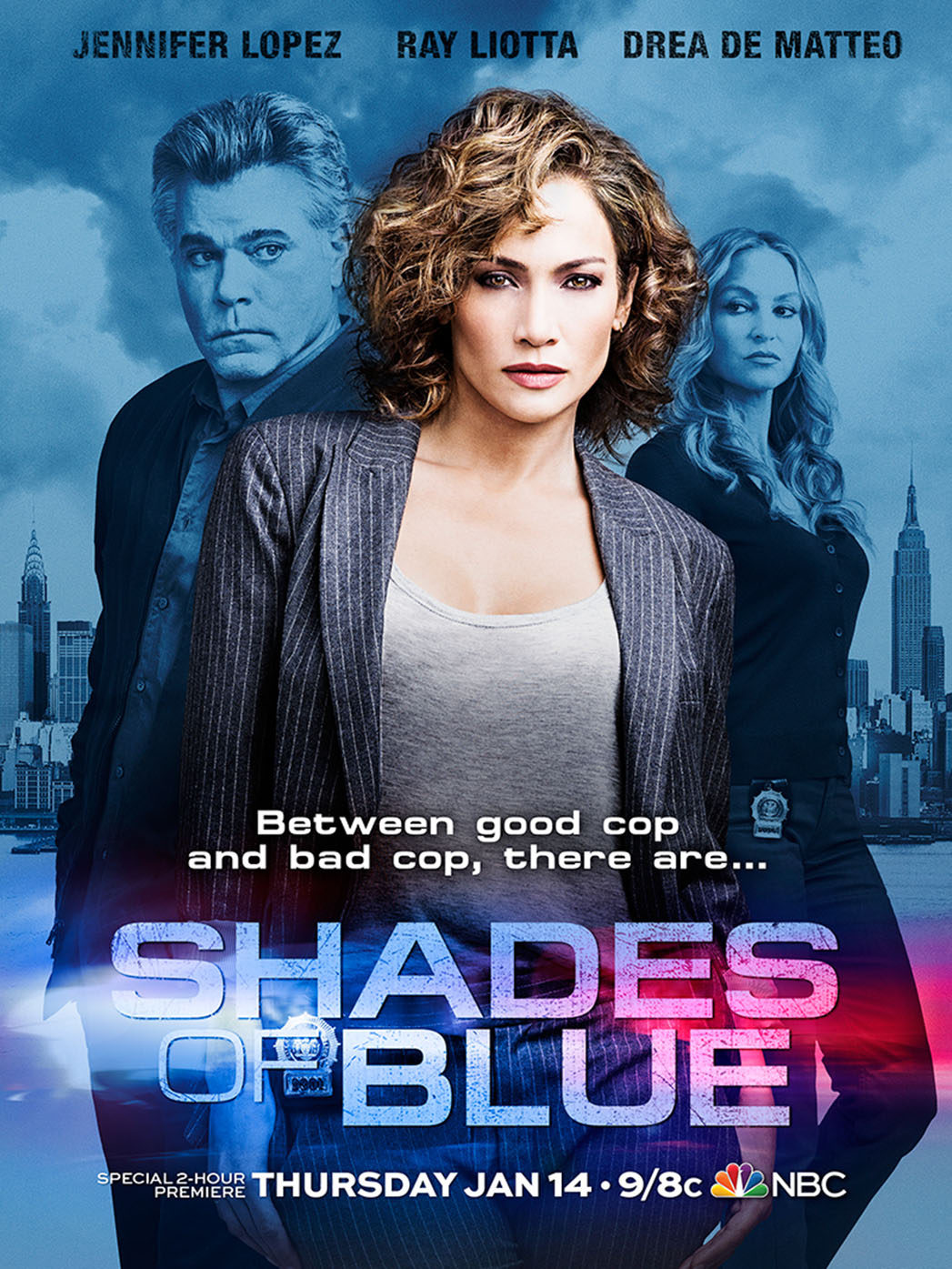 Shades of Blue Poster - P 2015