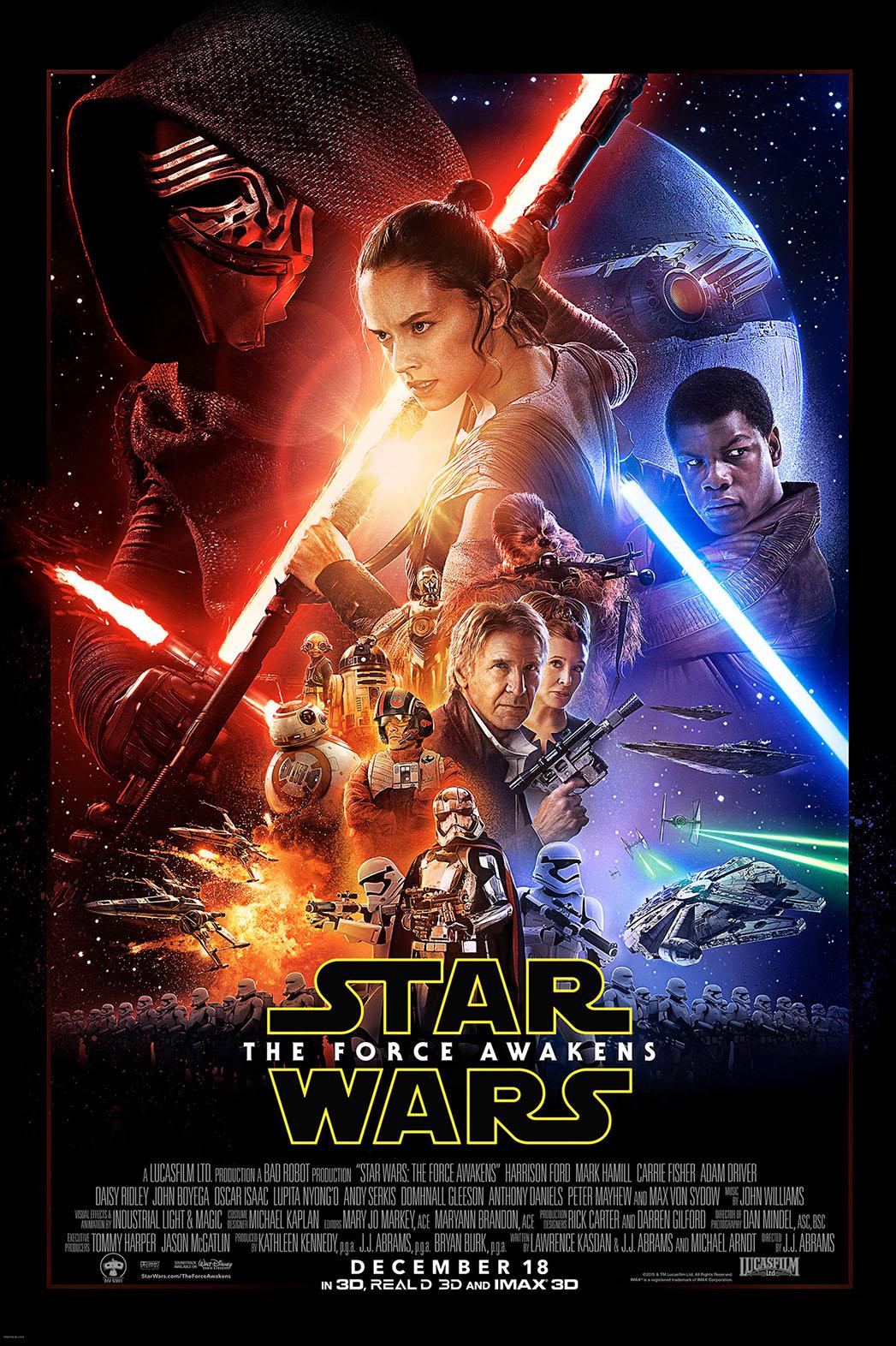 Star Wars: The Force Awakens Poster Key Art - P 2015
