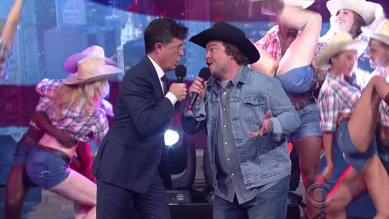 Stephen Colbert Jack Black H 2015