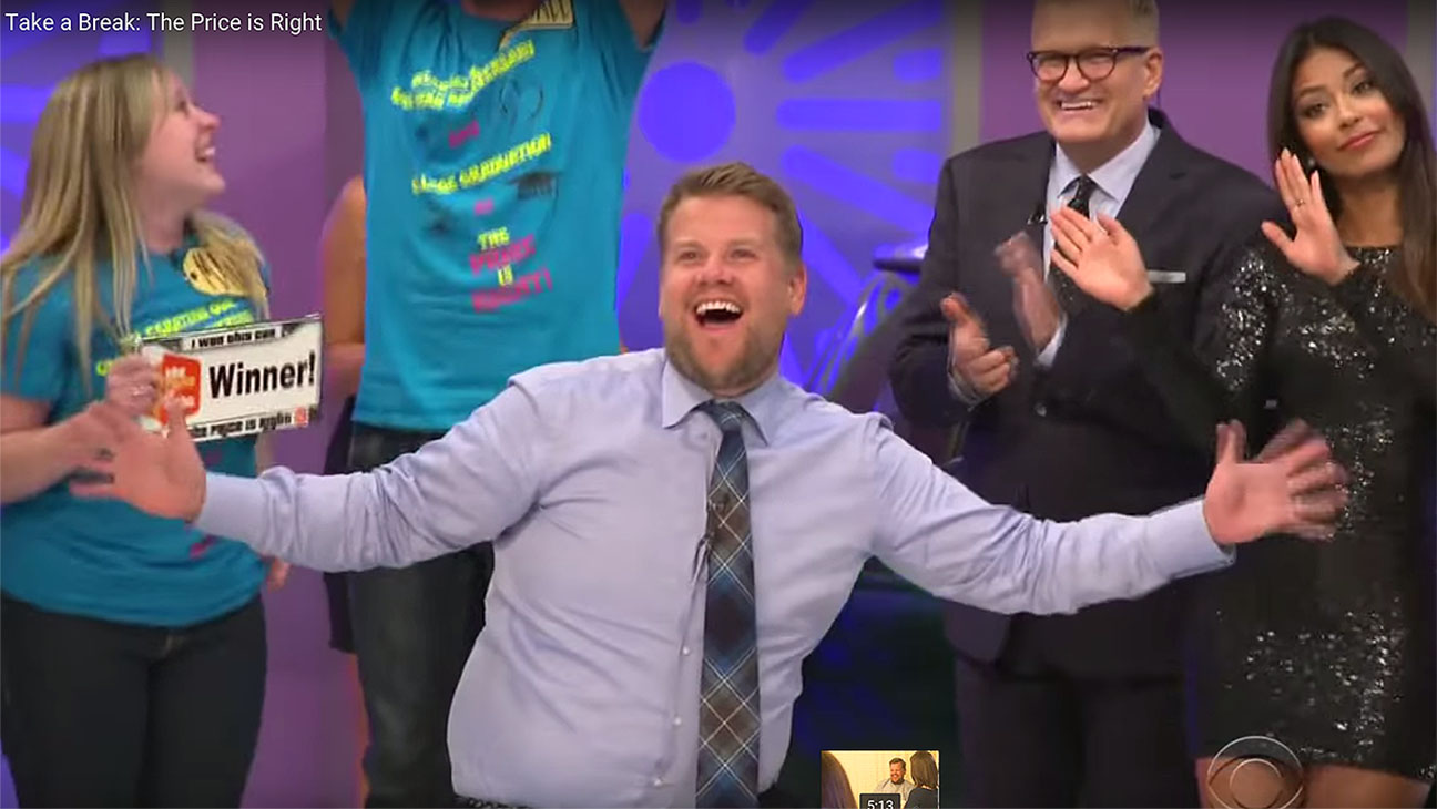 James Corden The Price is Right Screenshot - H 2015