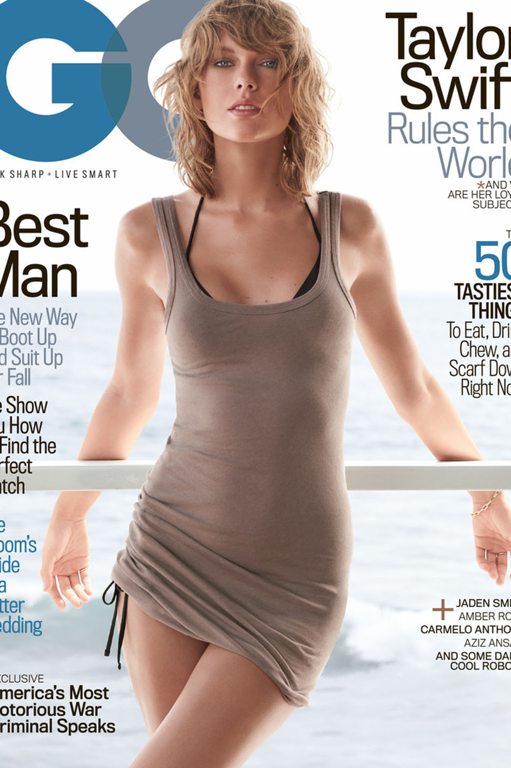 Taylor Swift GQ cover - P 2015