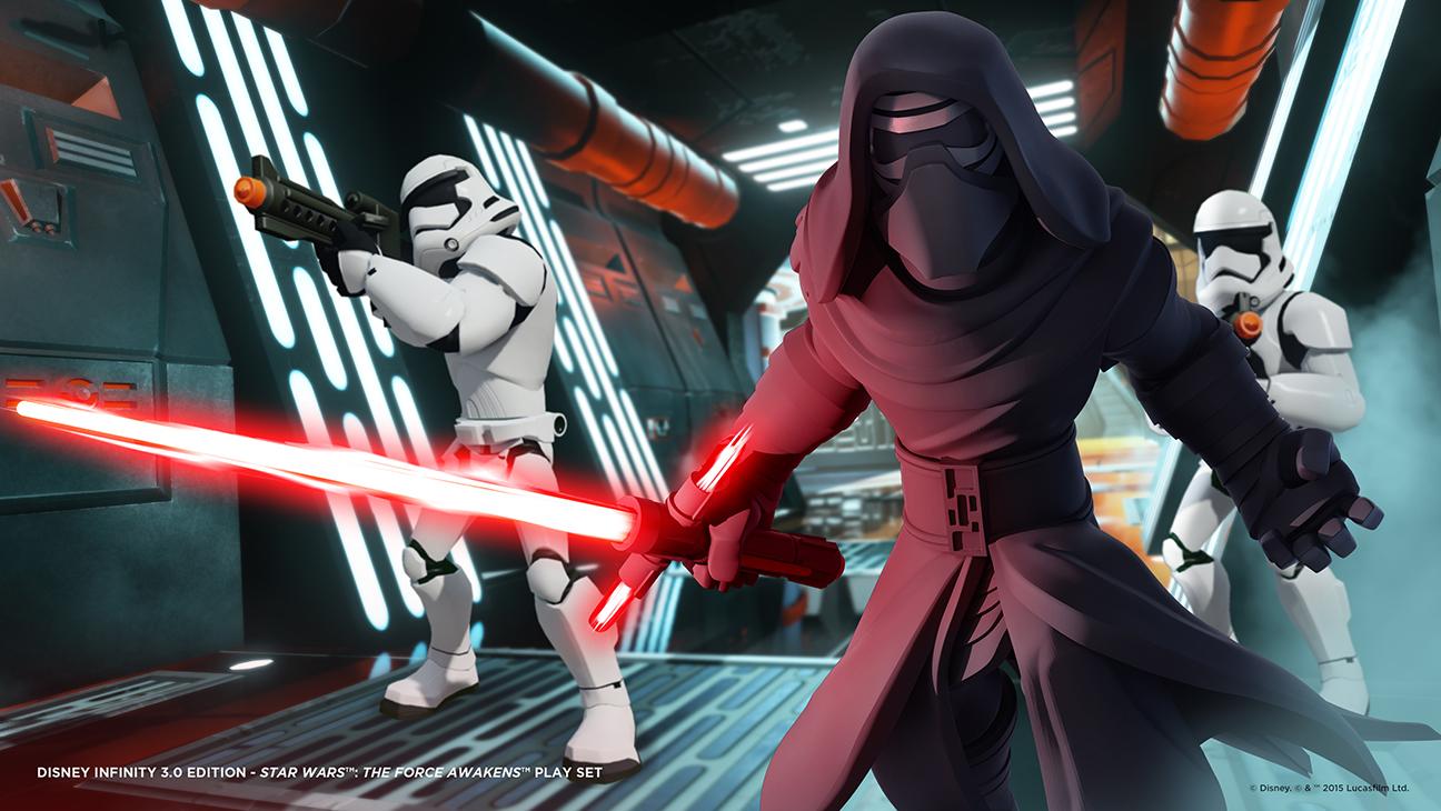 Star Wars Force Awakens Disney - H 2015