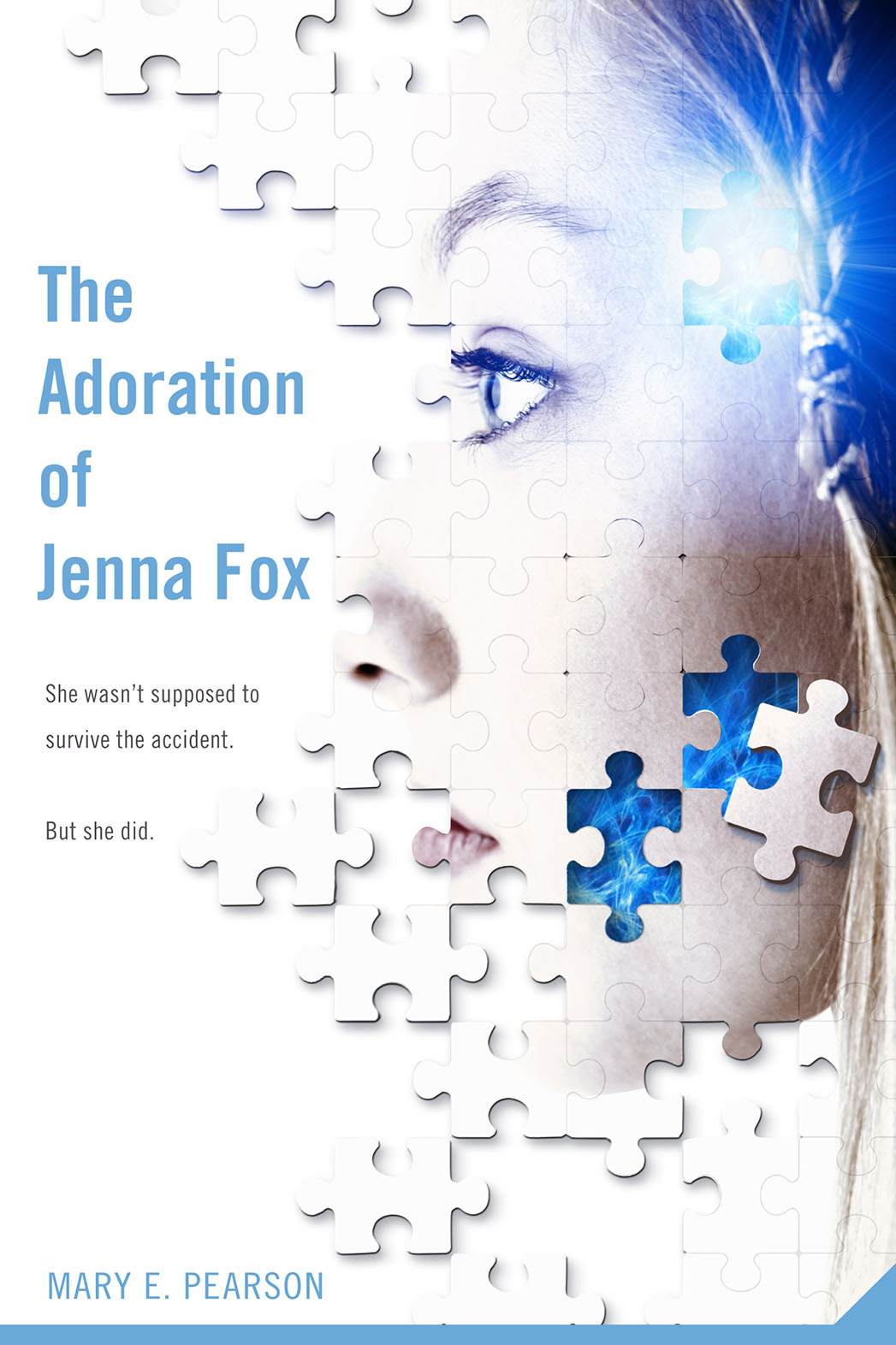 The Adoration of Jenna Fox Cover - P 2015