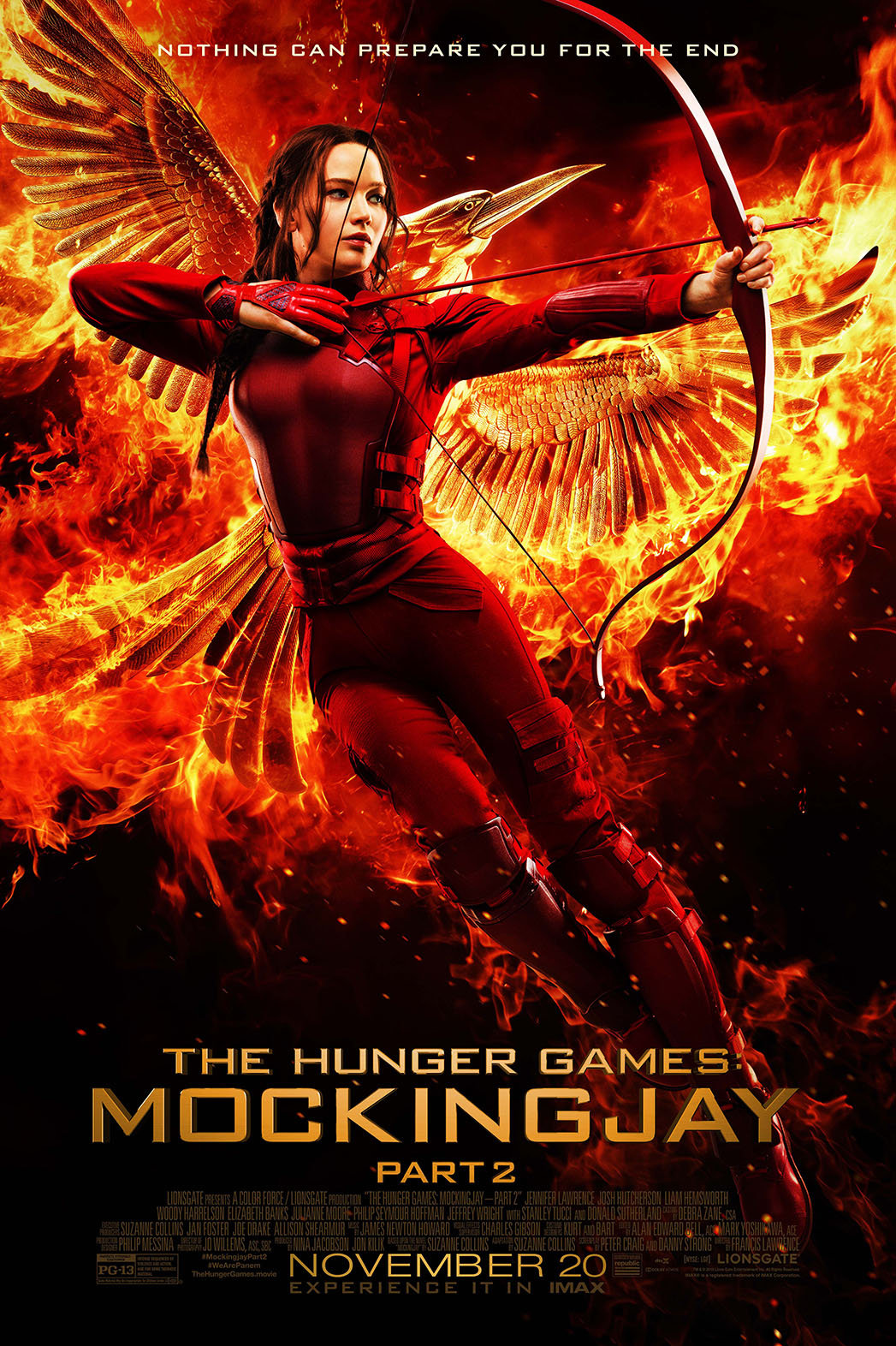The Hunger Games Mockingjay Part 2 Poster - P 2015