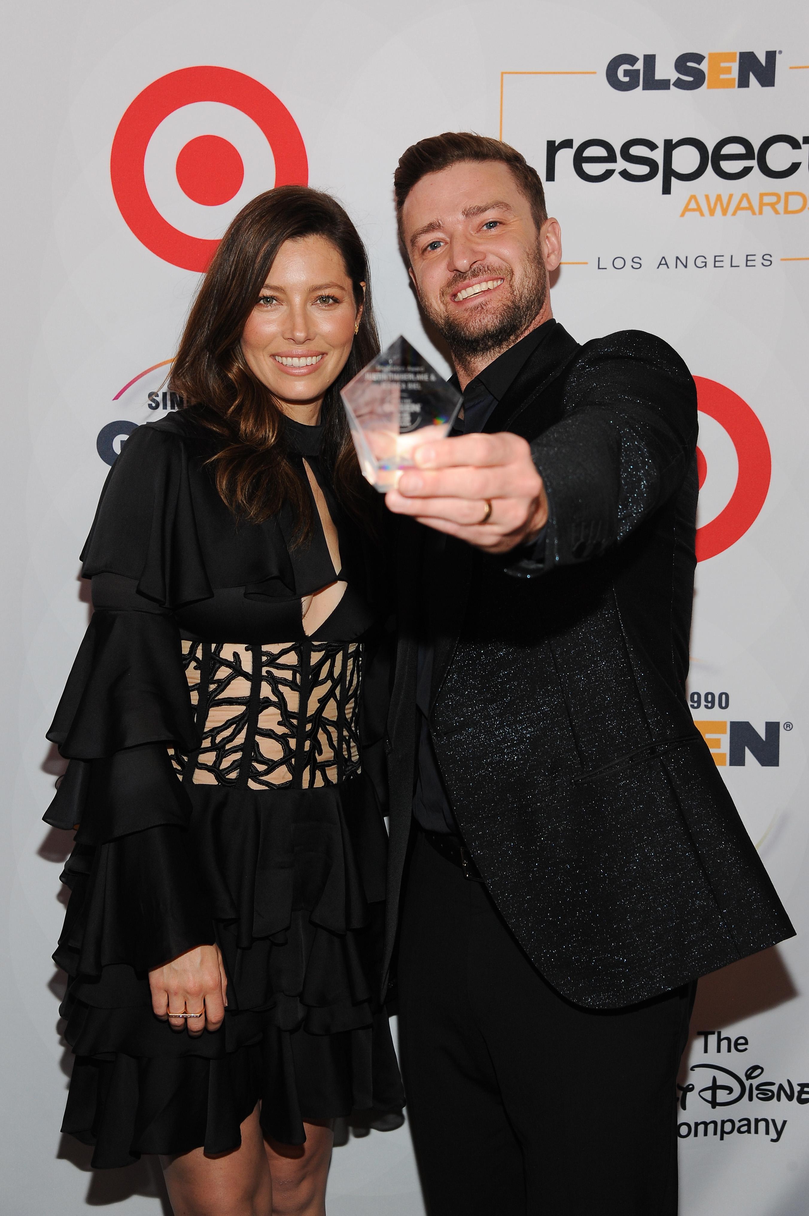 Justin Timberlake Jessica Biel - P 2015