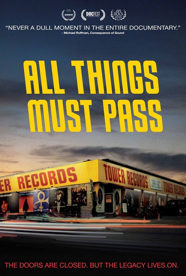 All Things Must Pass: The Rise and Fall of Tower Records - POSTER