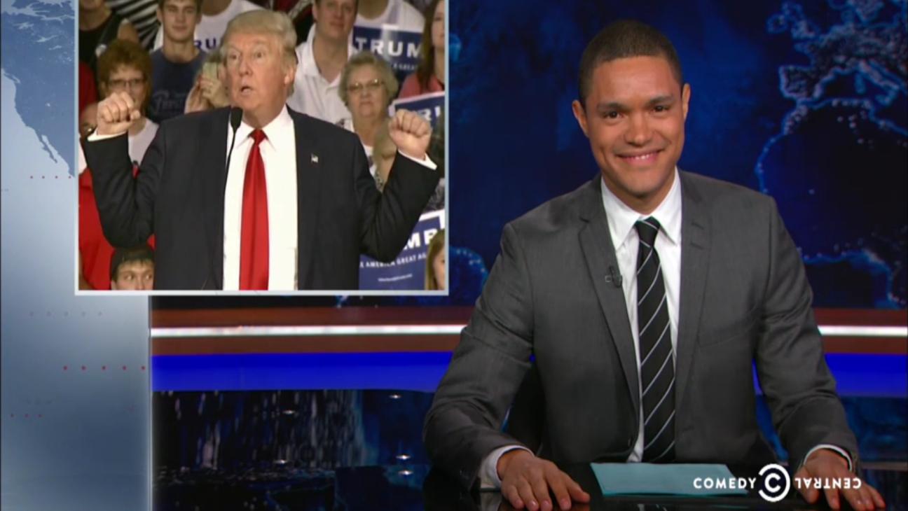 Trevor Noah on Donald Trump — H 2015