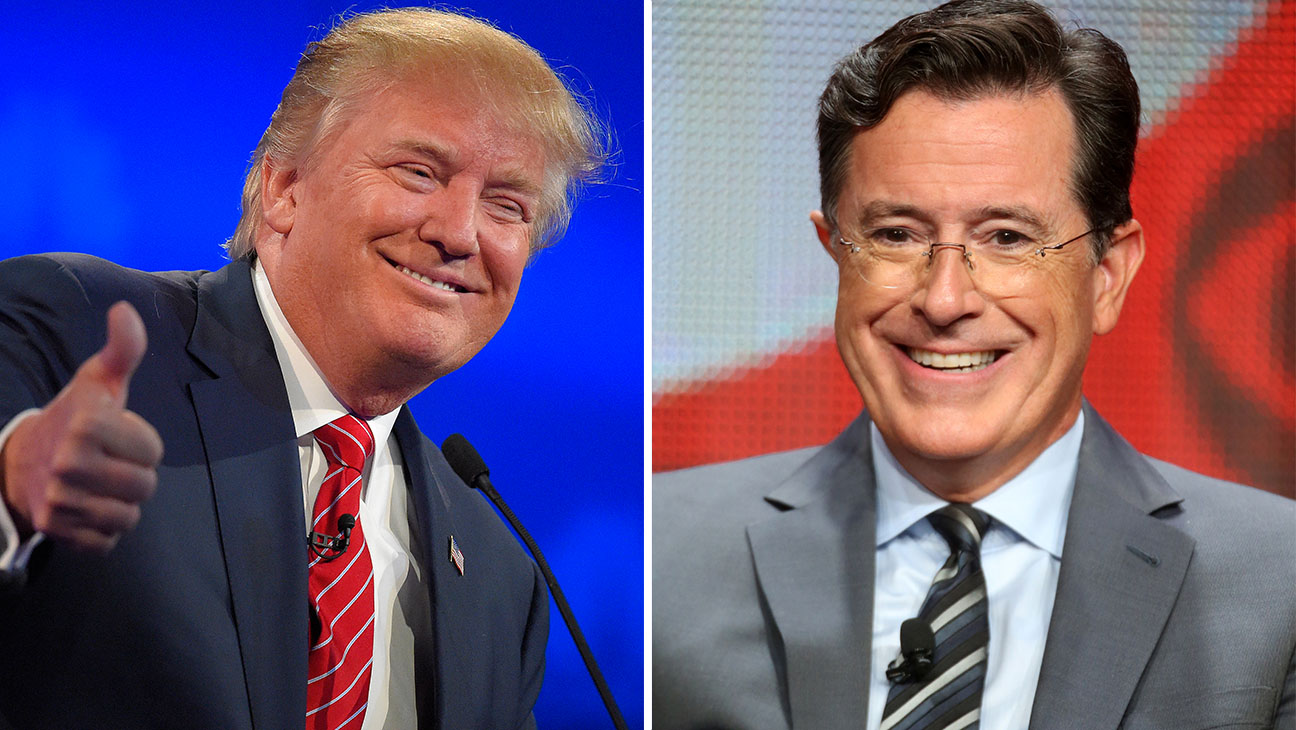Trump and Colbert split - H 2015