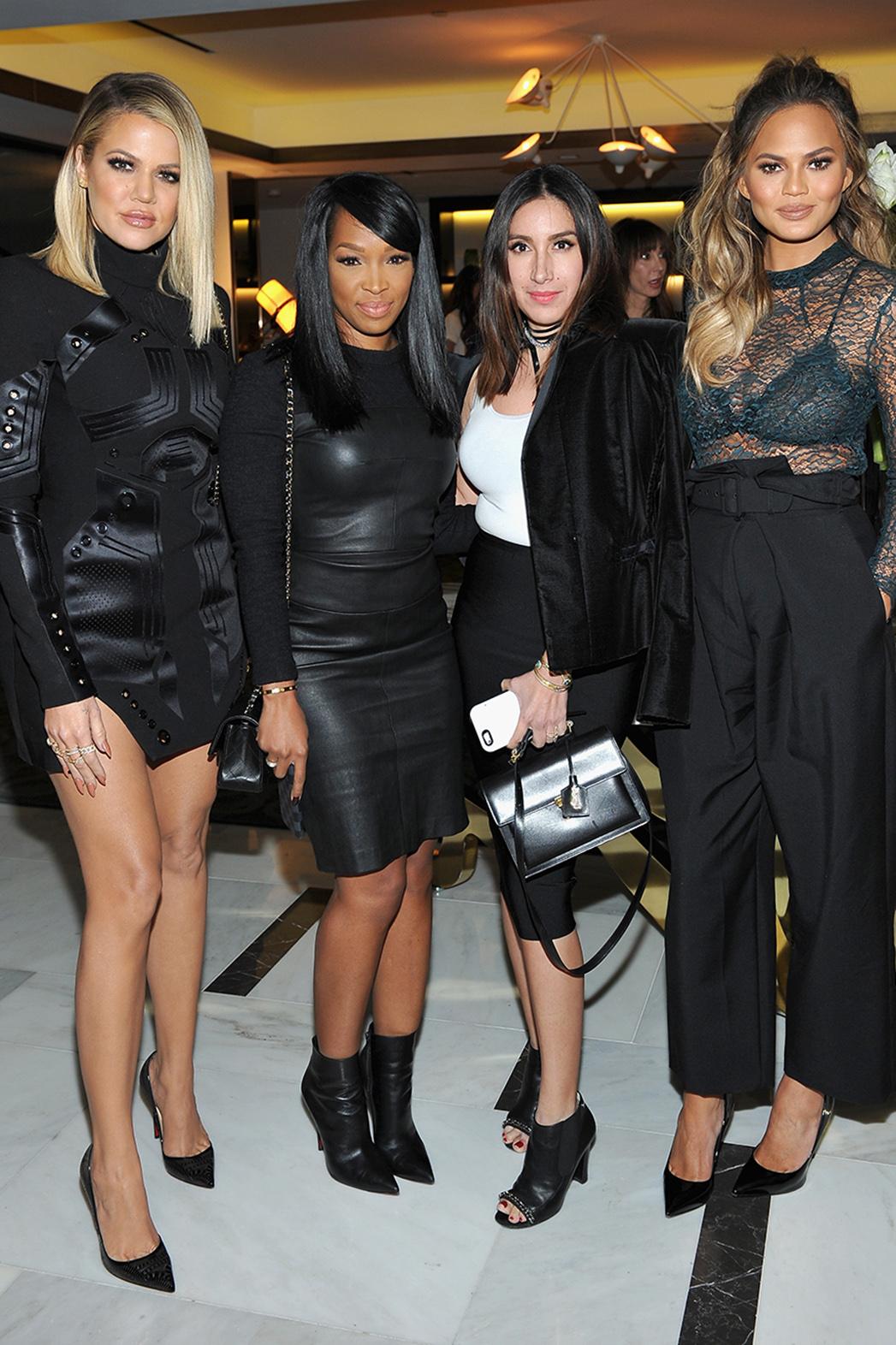 Khloe Kardashian Chrissy Teigen Fete Thr S Beauty Issue Hollywood Reporter