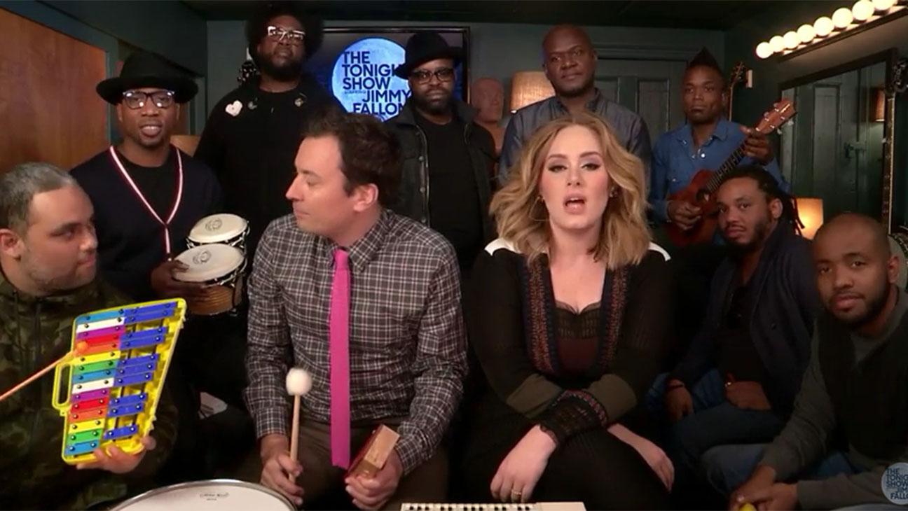 Adele Jimmy Fallon Instruments - H