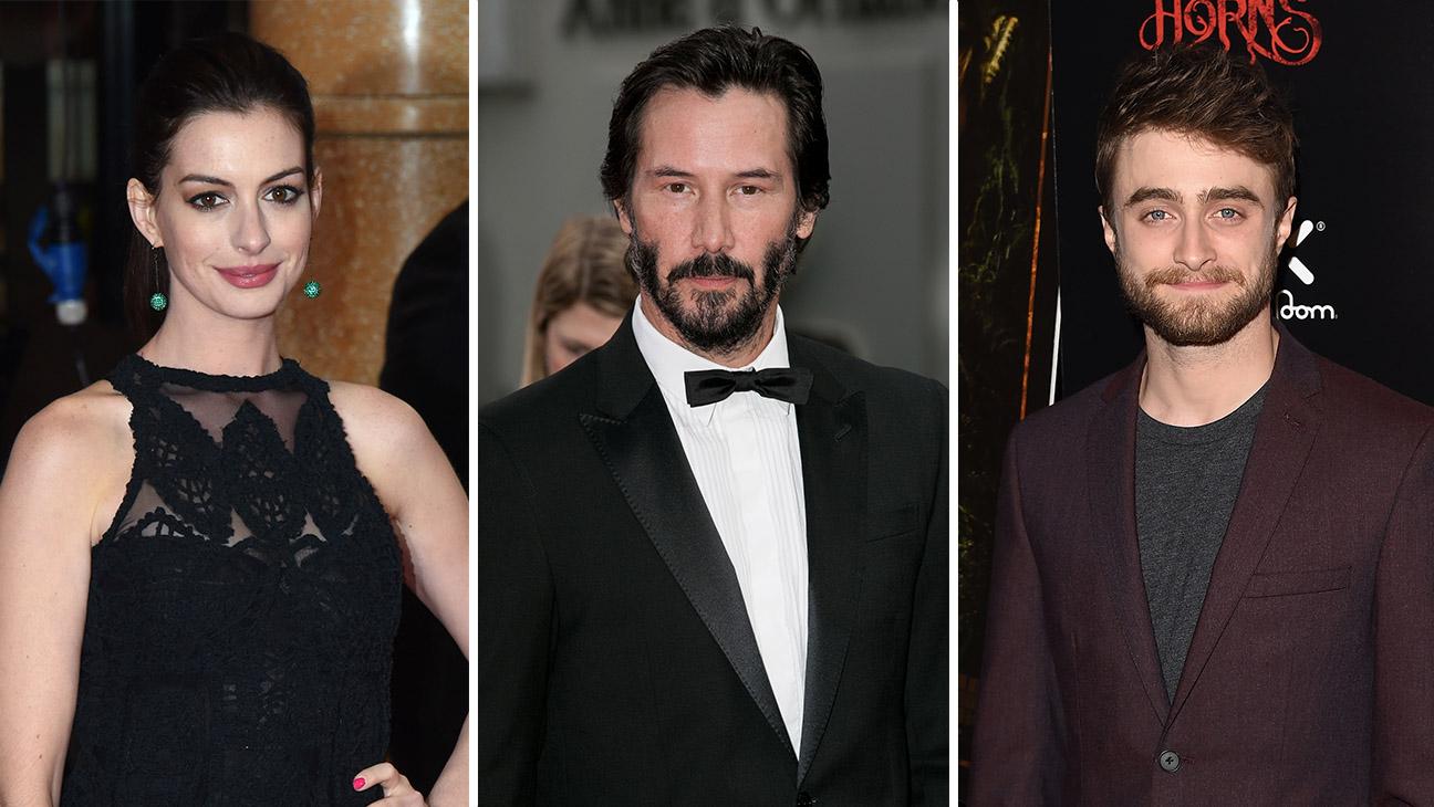 Anne Hathaway Keanu Reeves Daniel Radcliffe Split - H 2015
