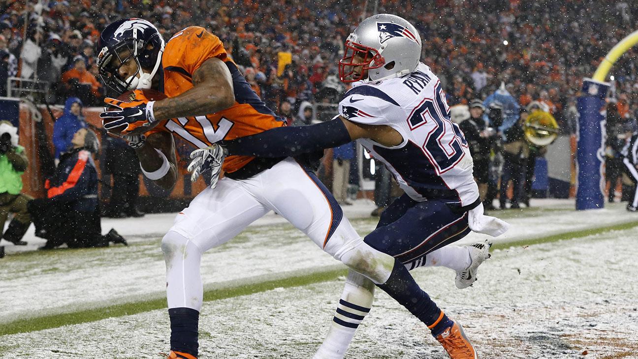 Broncos Patriots Game  Sunday, Nov. 29, 2015 Denver  - H 2015