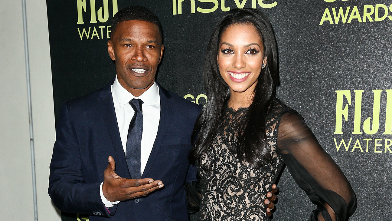 Jamie Foxx and Corinne Foxx attend Miss Golden Globe InStyle Party - H 2015