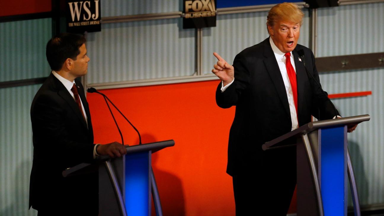 Donald Trump GOP Debate - H 2015