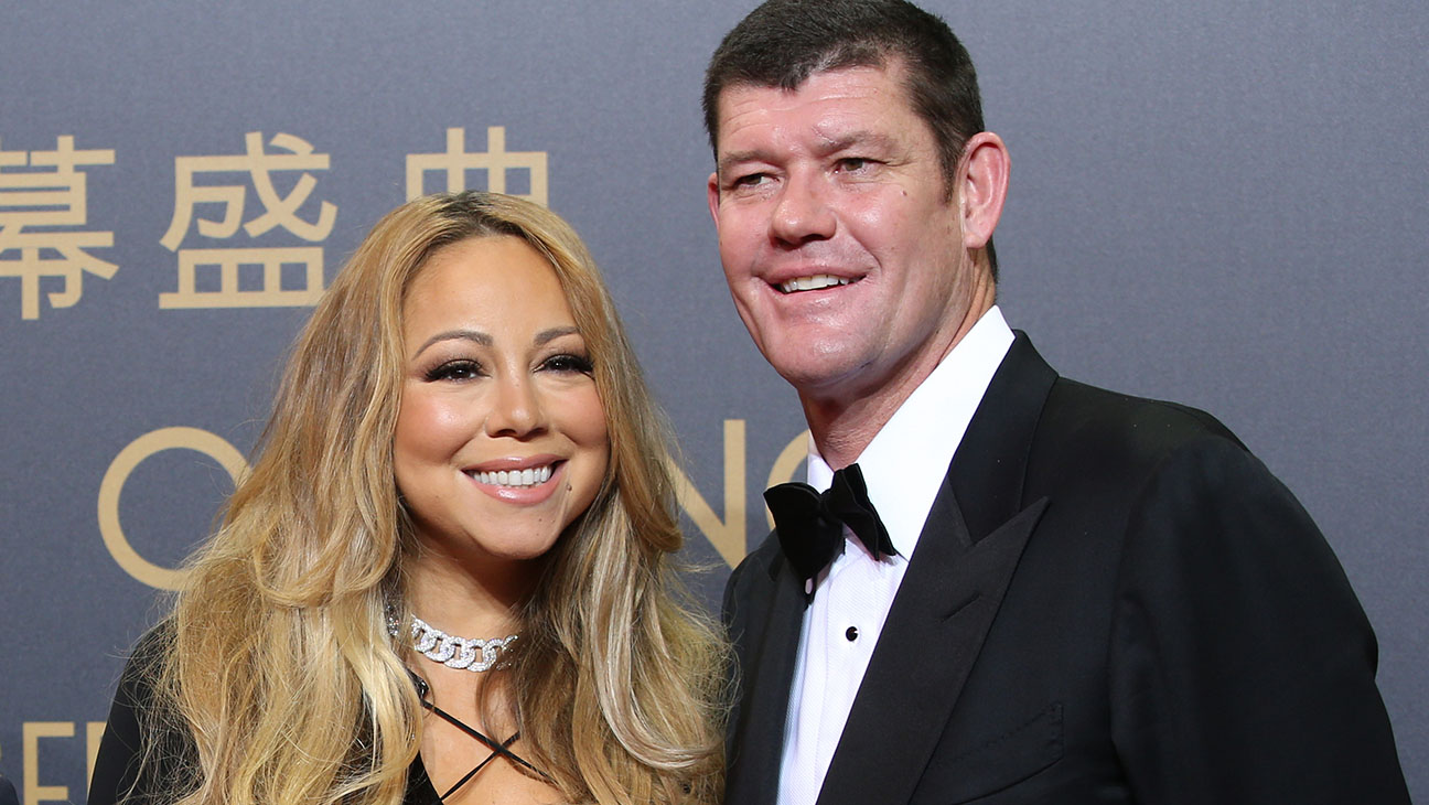 Mariah Carey and James Packer - H 2015