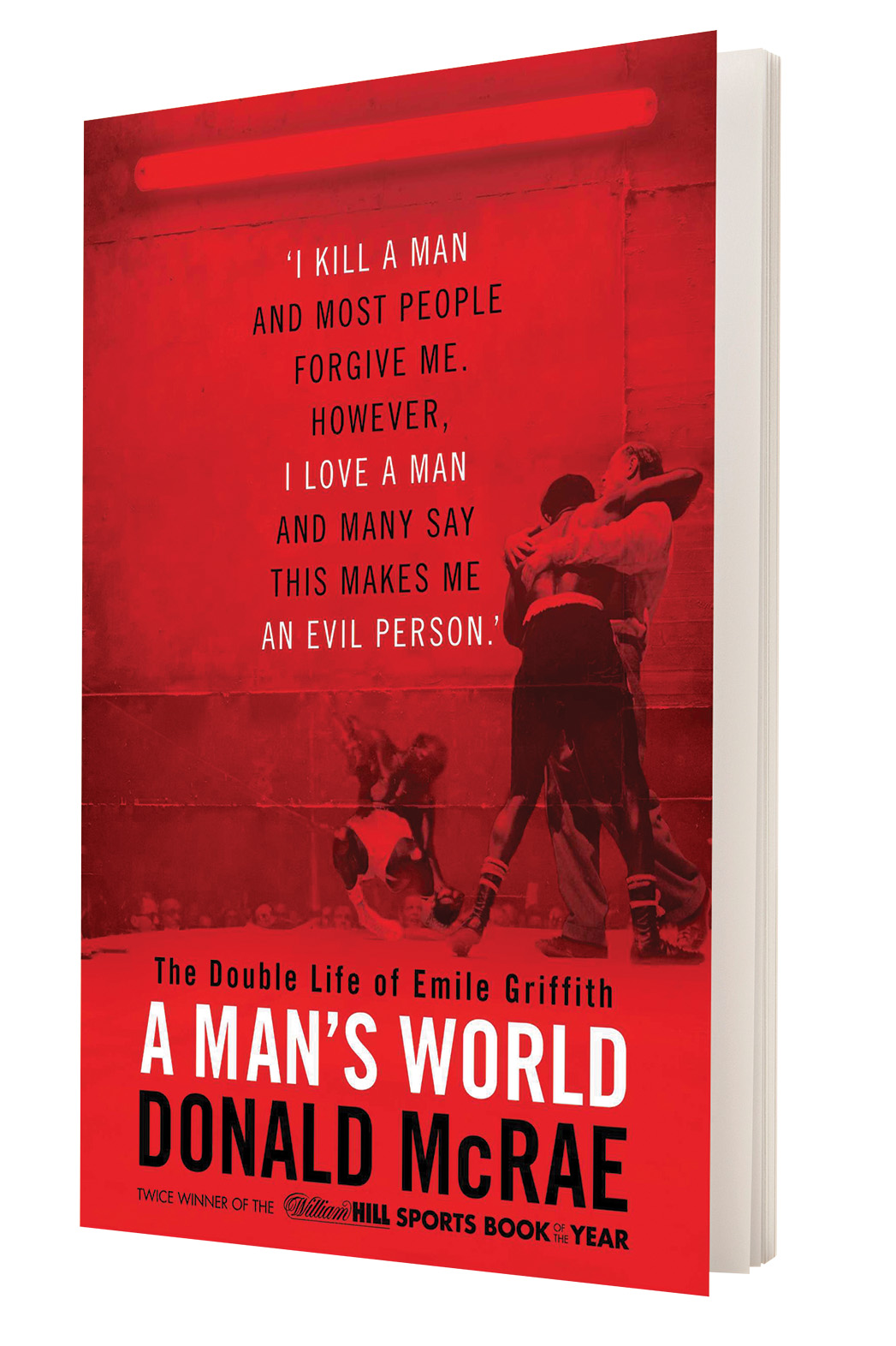 A Man's World Book Cover - P 2015
