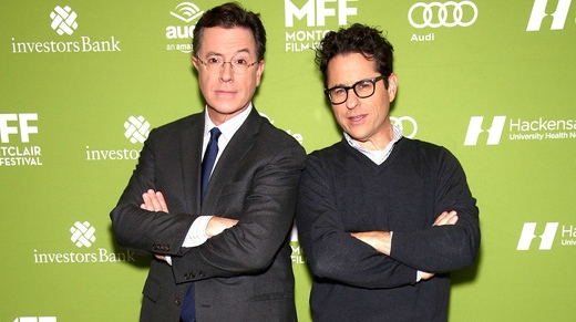 Stephen Colbert and JJ Abrams - H 2015