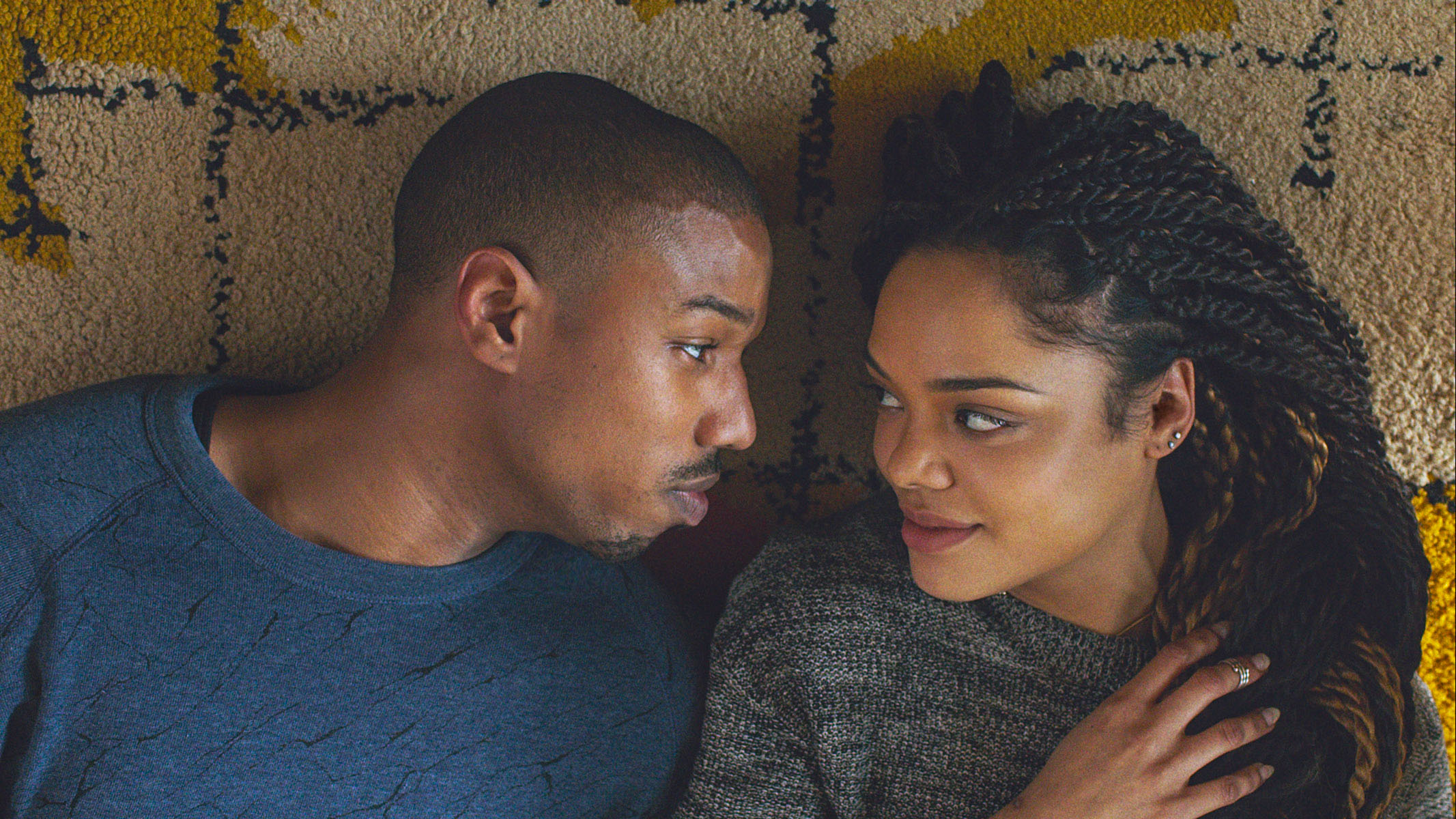 Creed Still 3 MICHAEL B. JORDAN and Tessa Thompson- H 2015