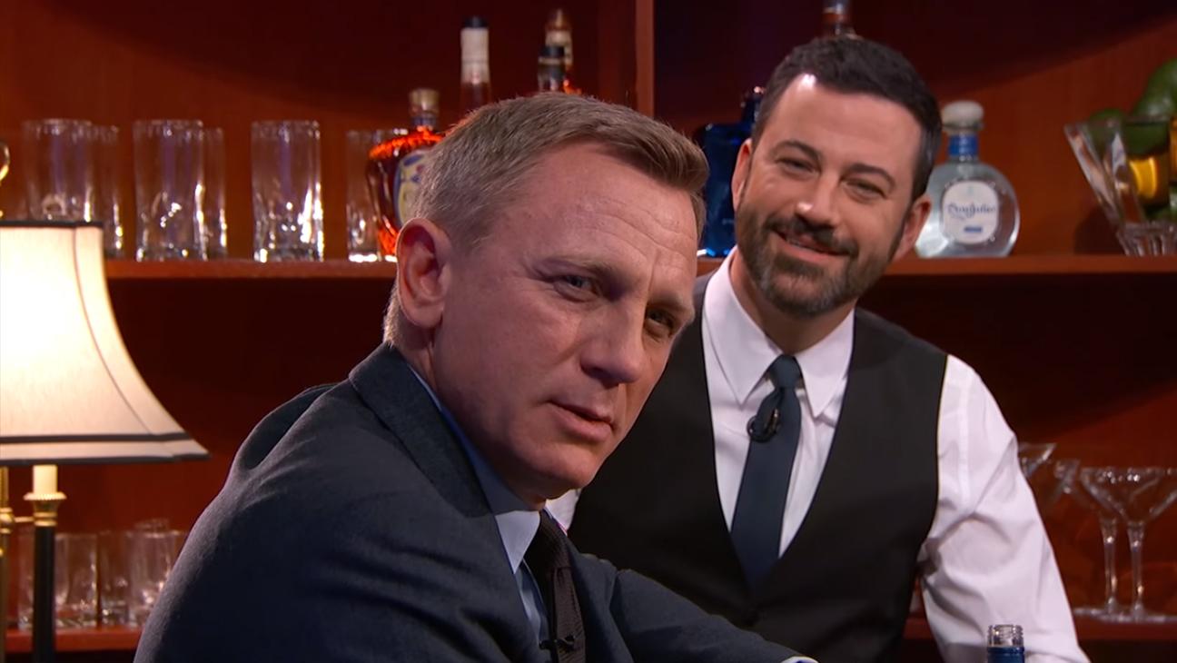 Daniel Craig Jimmy Kimmel H 2015