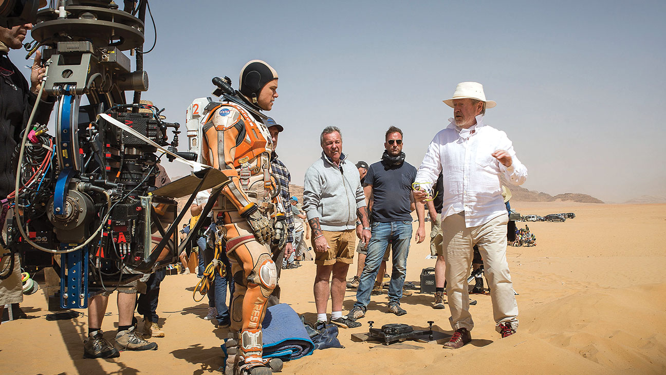 The Martian's' Ridley Scott Replicated Mars in the Middle East - H 2015