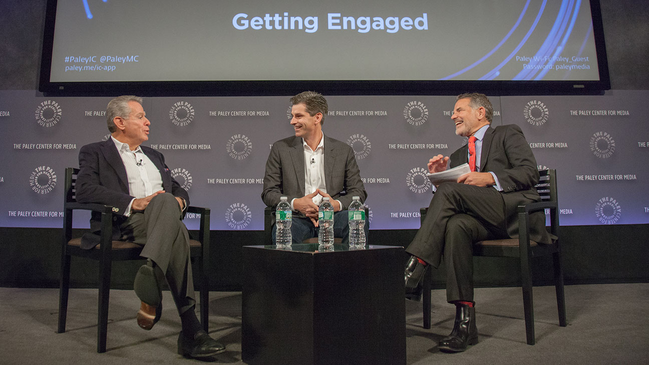 Paley IC Summit with Irwin Gotlieb, Mike Hopkins and  Jack Myers- H 2015