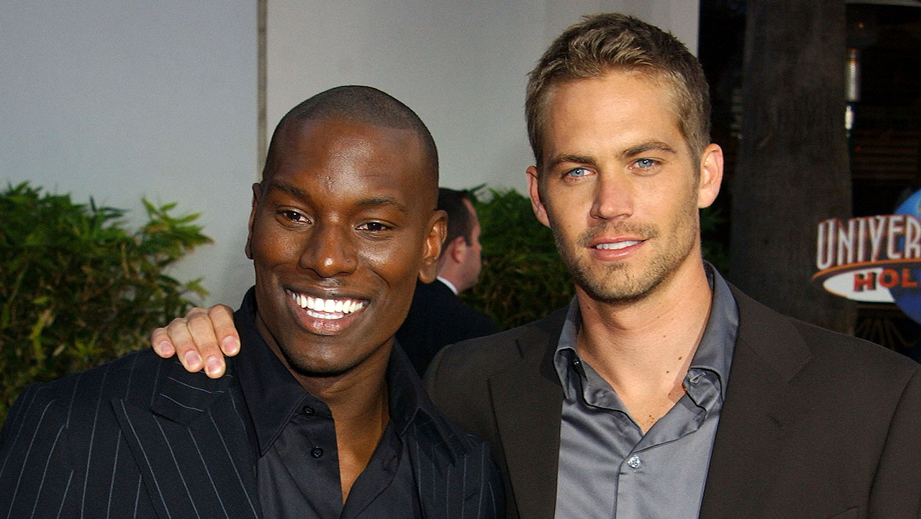 Tyrese and Paul Walker - H 2015