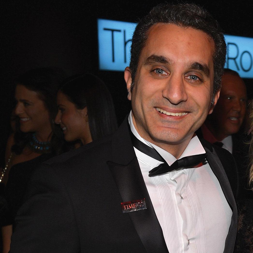Bassem Youssef hosting the International Emmys - H 2015