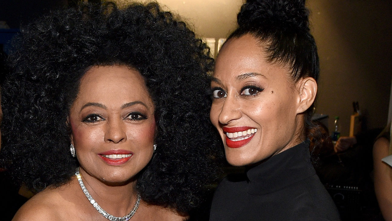 Tracee Ellis Ross Joins Mom Diana Ross on Stage for Surprise Song |  Hollywood Reporter