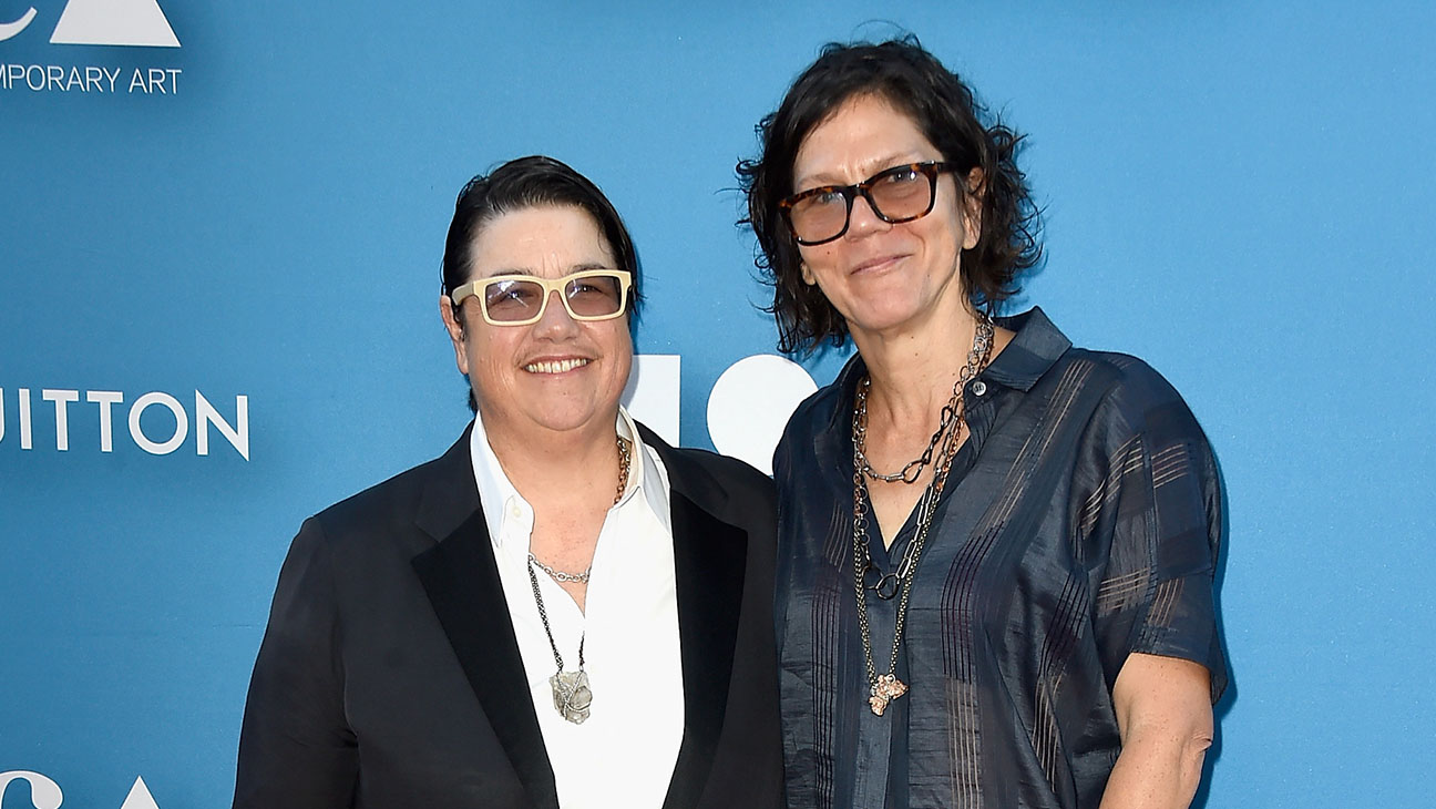 Artist Catherine Opie and Julie Burleigh attend the 2015 MOCA Gala - H 2015