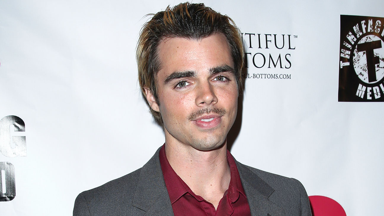 Reid Ewing attends the premiere for 10 Rules For Sleeping Around- H 2015