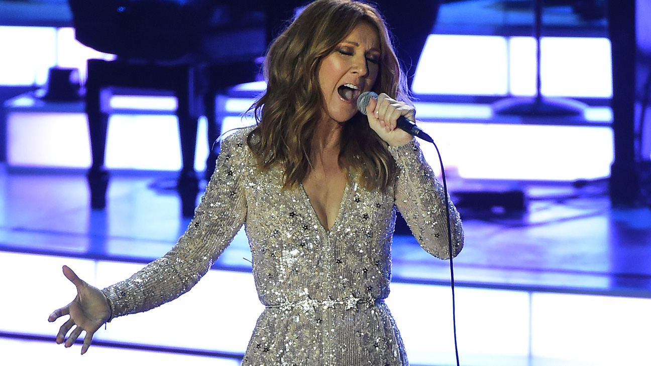 Singer Celine Dion performs at The Colosseum at Caesars Palace - H 2015