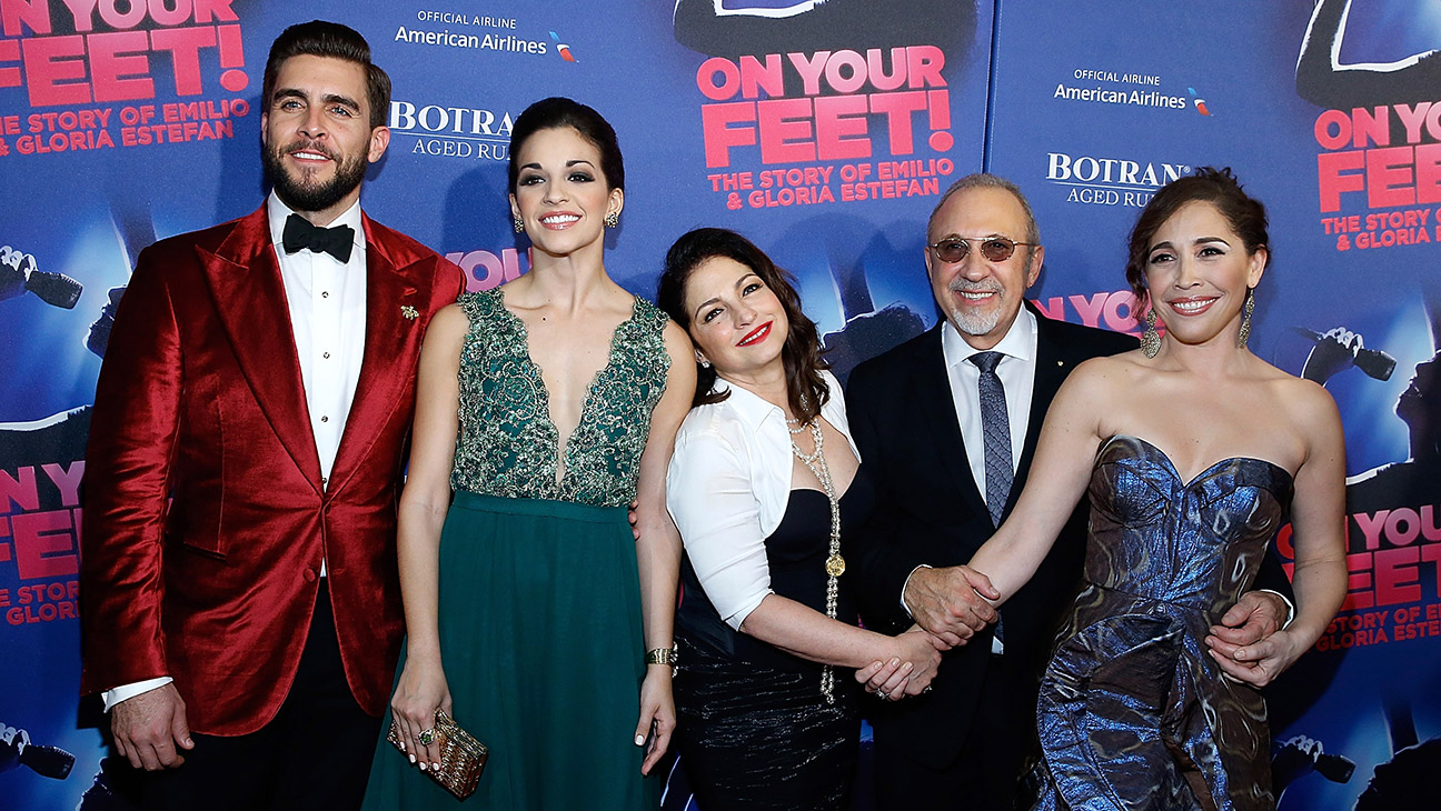 "On Your Feet"" Broadway Opening Night after party at Marquis Theatre - H 2015"