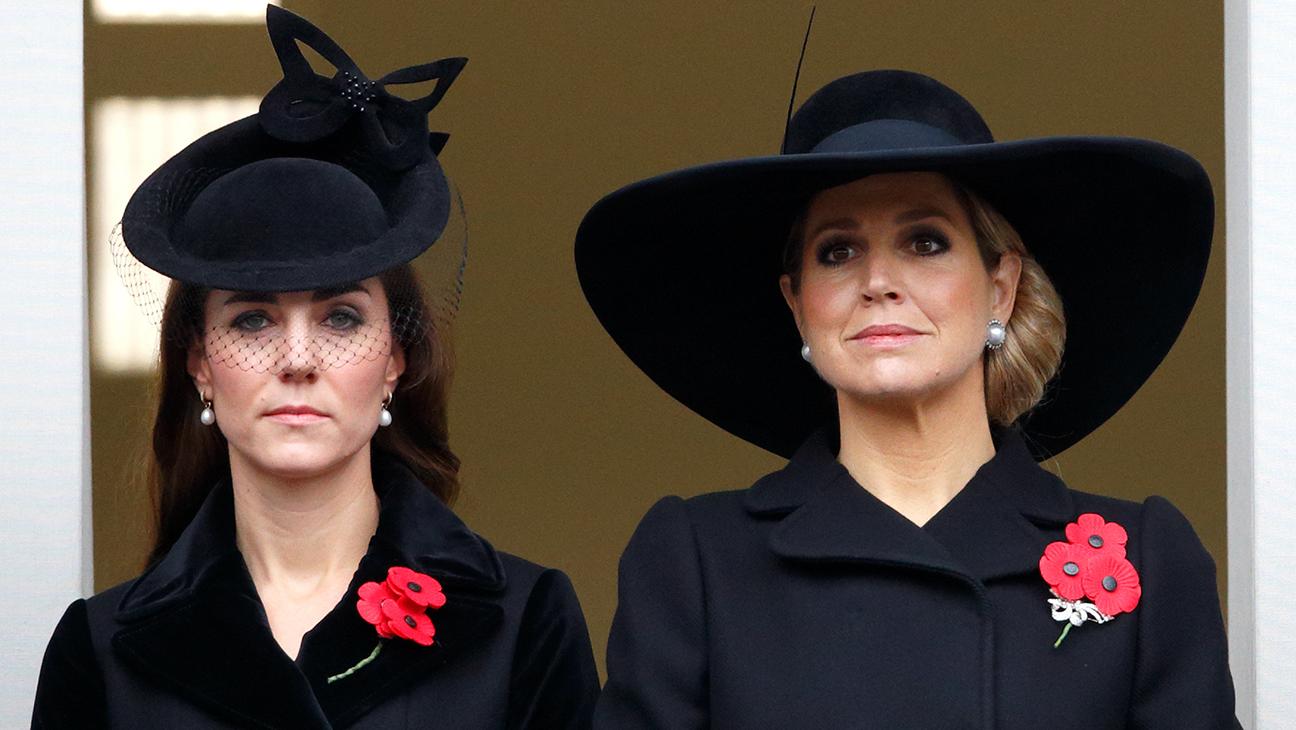 Duchess of Cambridge and Queen Maxima - H 2015