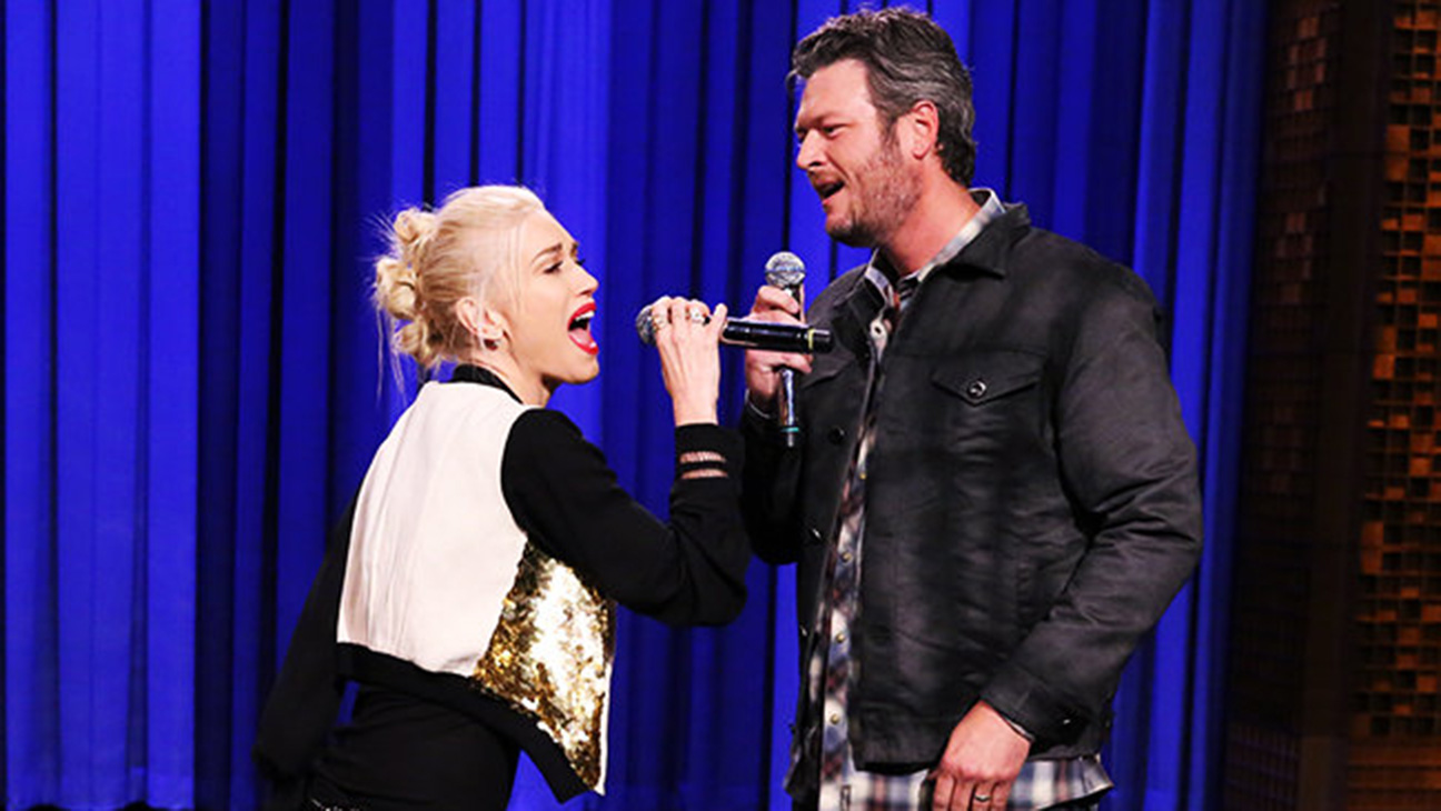 Gwen Stefani and Blake Shelton - H 2015